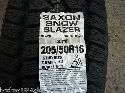 4 205 50 16 Saxon Snow Blazer Winter Tires