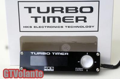 Hks Turbo Timer Type 0 Universal Black Jdm White Led Display Free Ship Fedex 10d