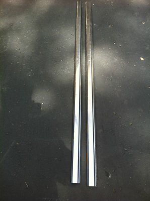 197071 Ford Ranchero Stainless Steal Bed Rails Trim