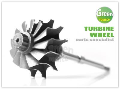 Turbo Turbine Shaft Wheel For Gart Gt12 4349270002