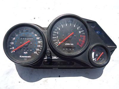 06 Kawasaki Ex 500 Ninja Engine Gauges Tach Tachometer Speedometer Stock Oem